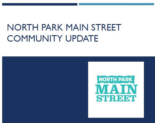 North Park Main Street Community Update 2018