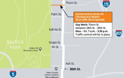 30th Street Pipeline Replacement Project – Update #15