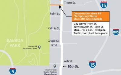 30th Street Pipeline Replacement Project –  Update #16