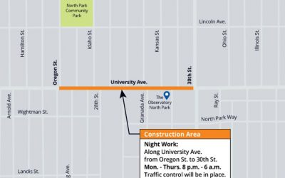 Start of Construction for 30th Street A Pipeline Replacement Project