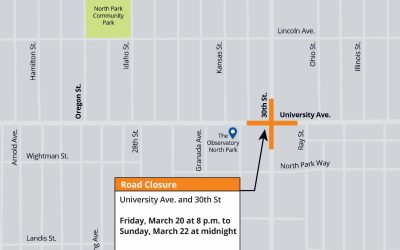 30th Street Pipeline Replacement Project –  Update #19
