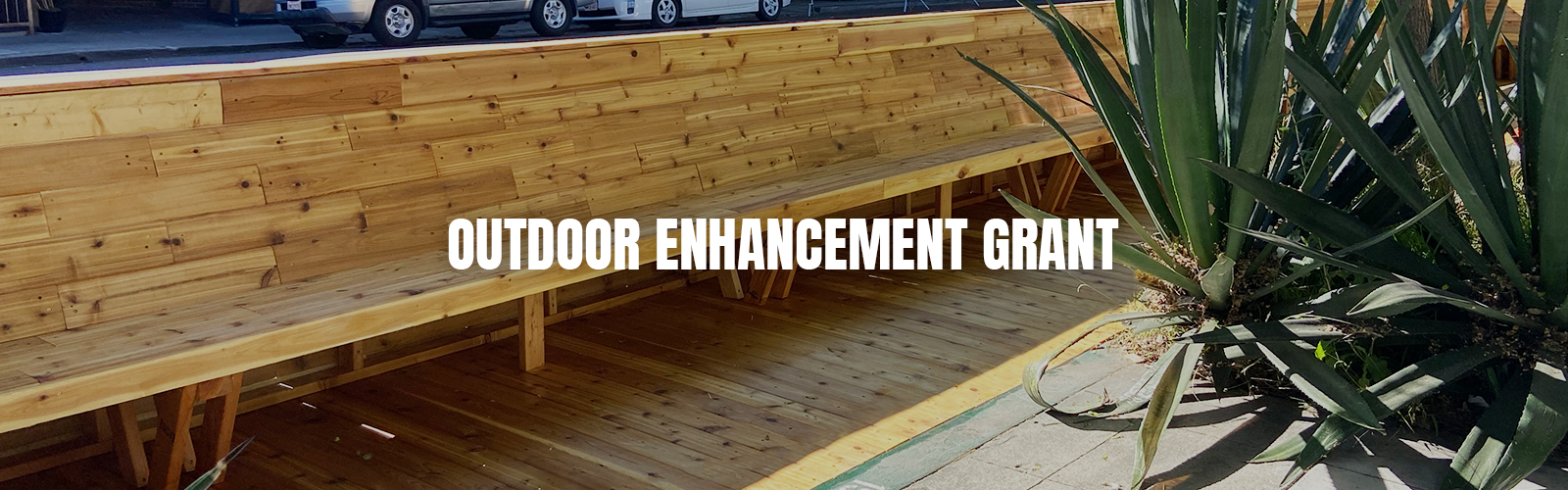 Outdoor Enhancement Grant