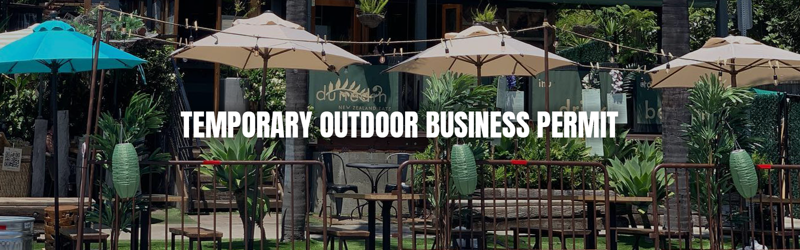 Temporary Outdoor Business Permit