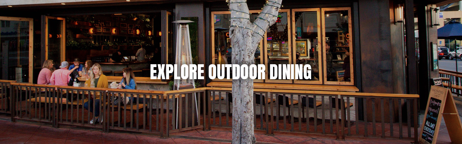 Explore Outdoor Dining