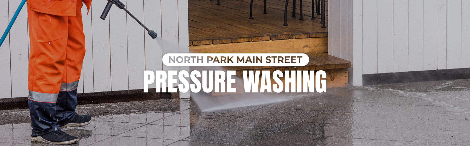 North Park Main Street Pressure Washing