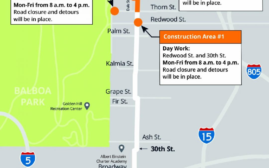 30th Street Pipeline Replacement Project – Update #26
